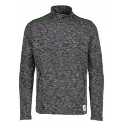 Rolák Funnel Neck Charcoal Mid Layer